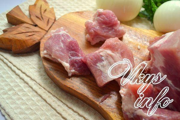 Шашлык из свиной лопатки: рецепт с фото пошагово