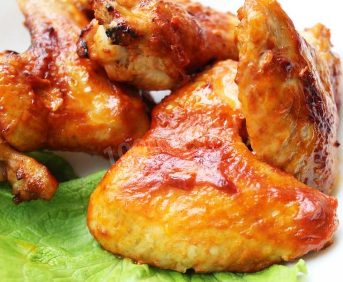 Рецепт шашлыка из куриных крылышек