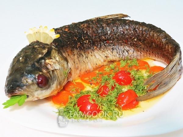 Рыба на мангале, на костре, на решетке, на углях, барбекю