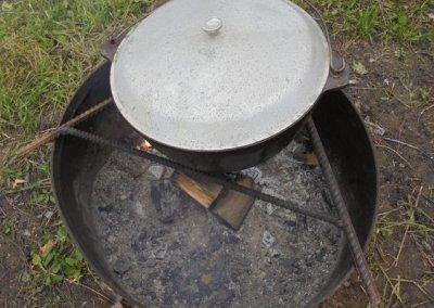 Печь для казана из трубы своими руками: подробная инструкция и чертеж как сделать печку