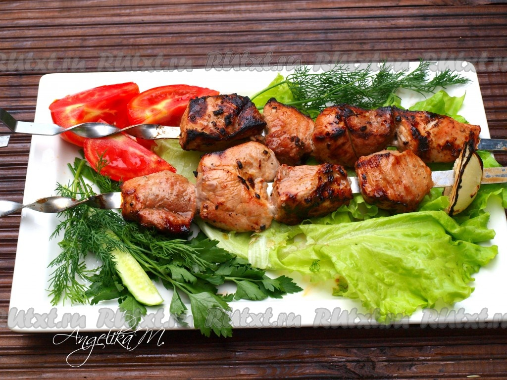 Рецепты шашлыка из свинины по – грузински
