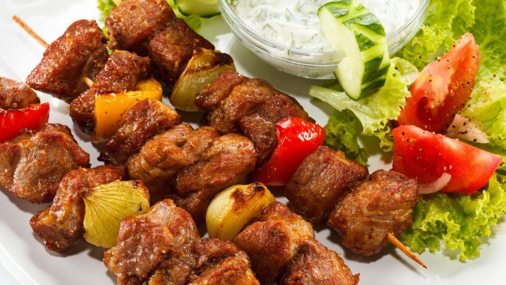Шашлык по-грузински из свинины и баранины: особенности приготовления