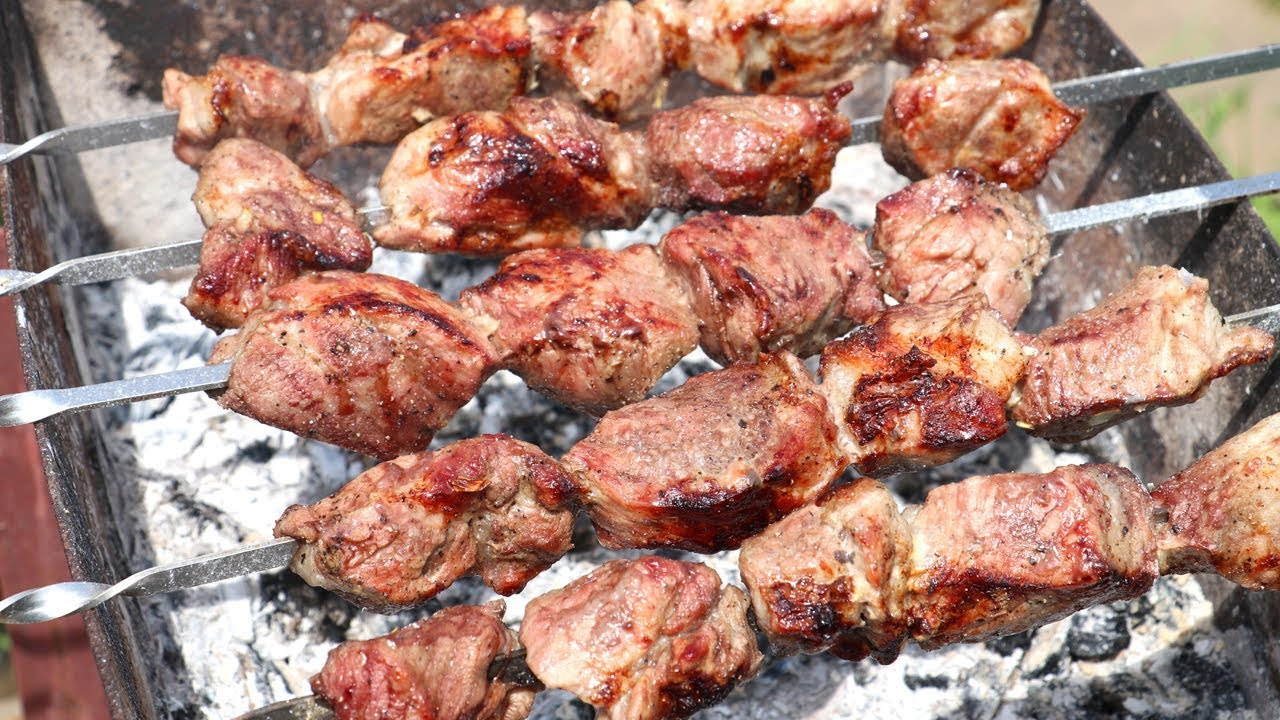 Шашлык из свинины. самый вкусный маринад, чтобы мясо было мягким и сочным