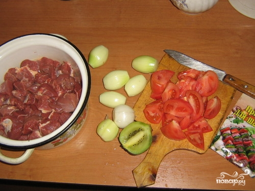 Маринад из киви для мяса и курицы — простые рецепты