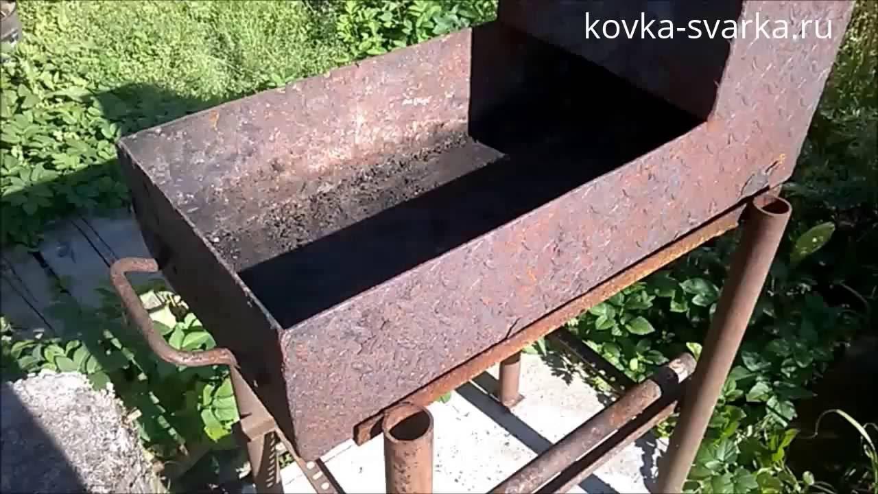 7 схем для постройки кирпичных мангалов