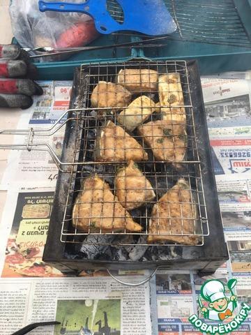 Рецепты для мангала — шашлык из осетрины