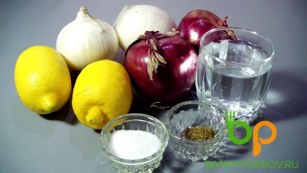 Маринованный лук и рецепты его приготовления
