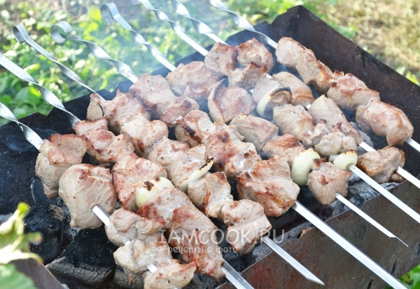 Шашлык из свинины в уксусе: рецепты маринования