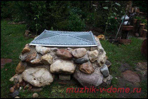 Мангал из камня своими руками: фото и пошаговая инструкция