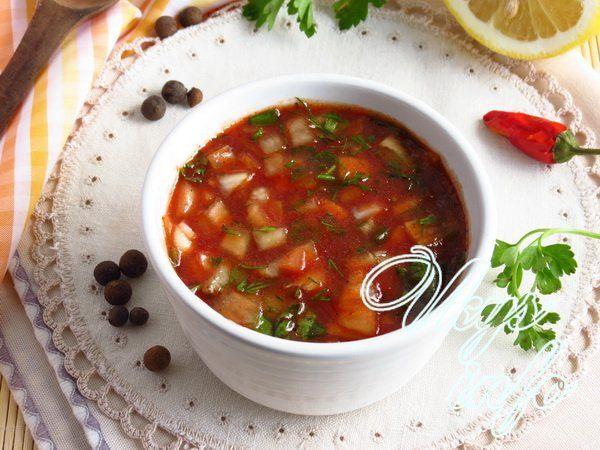 Соус к шашлыку из томатной пасты и кинзы рецепт