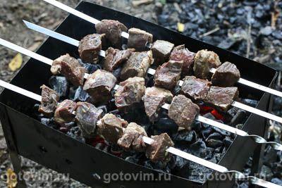 Шашлык из говяжьего сердца: рецепт с фото пошагово