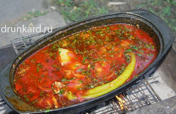 Необычные блюда на мангале: 10 лучших рецептов