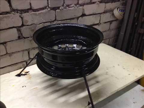 Мангал из автомобильных дисков: самостоятельное изготовление