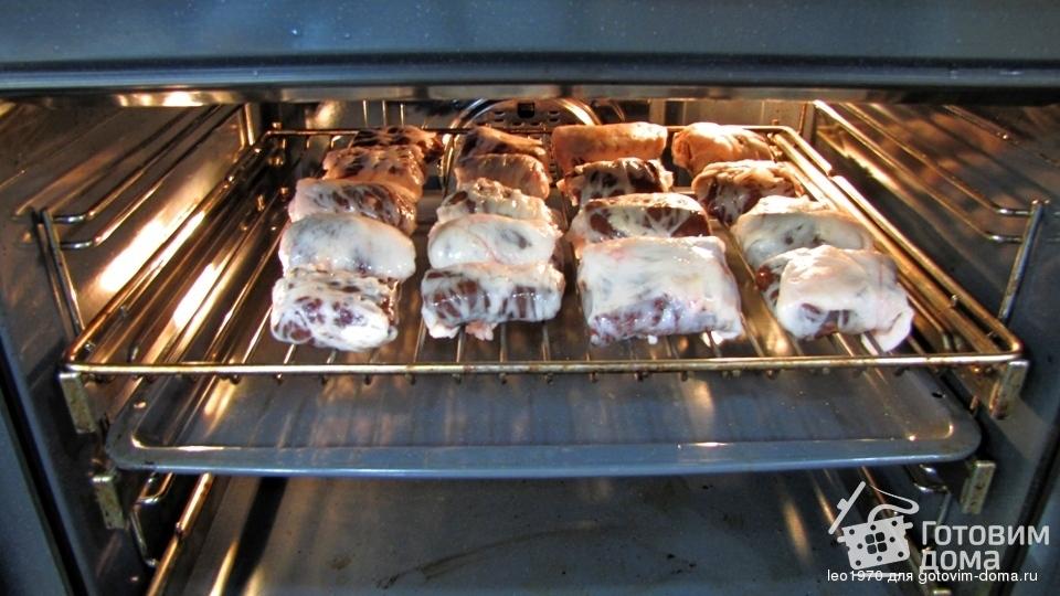 Шашлык из печени в жировой сетке - здоровое питание