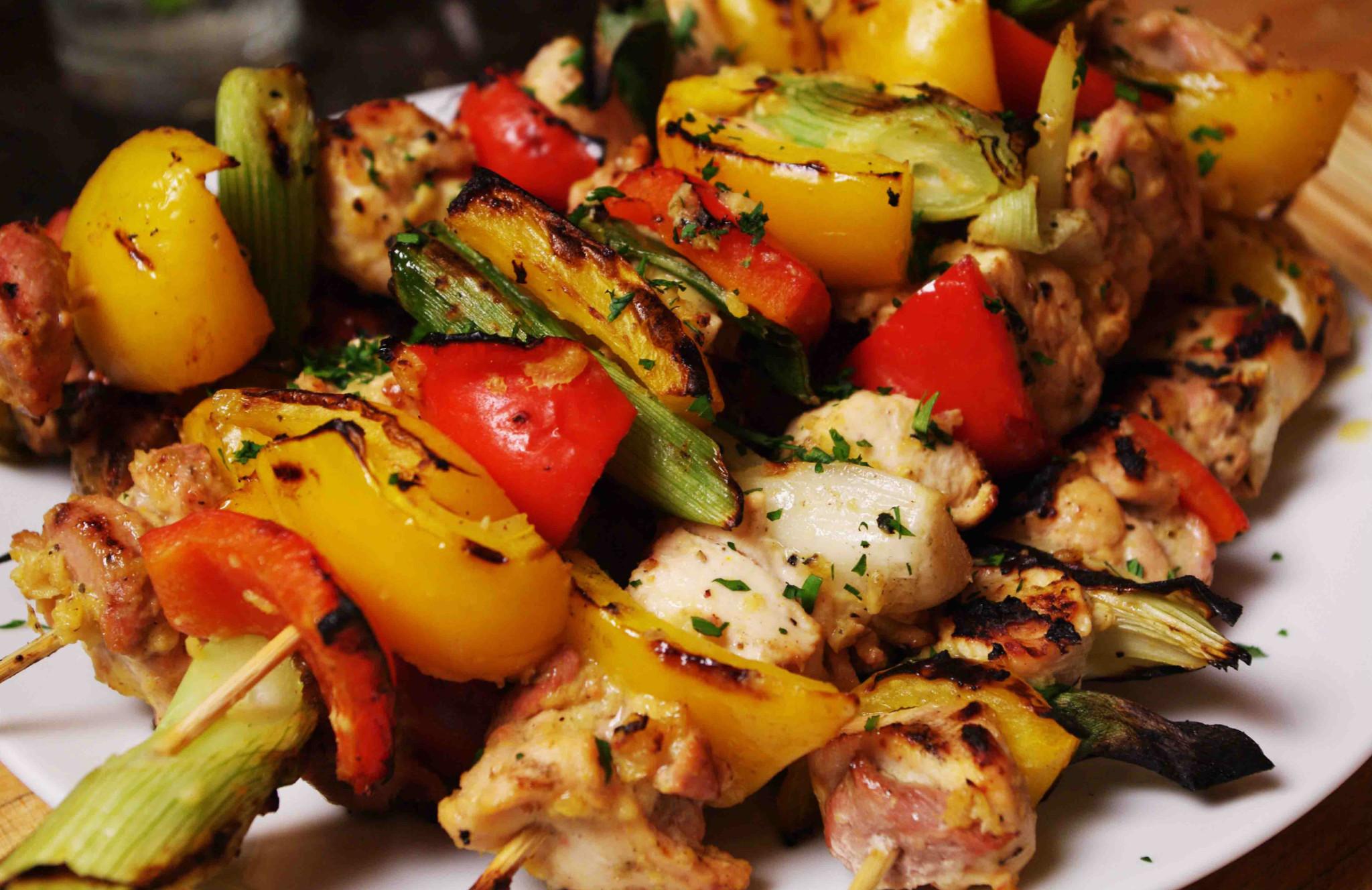Рецепт диетического шашлыка из куриного филе. диетический шашлык из куриной грудки