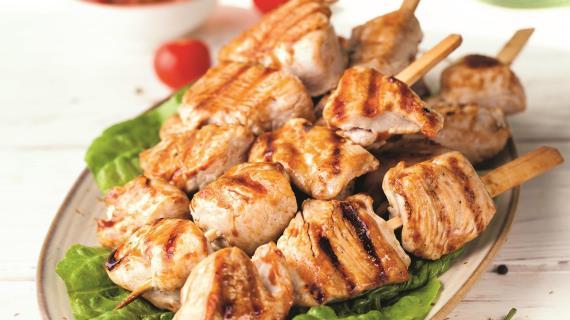 Шашлык из индейки - 8 домашних вкусных рецептов приготовления