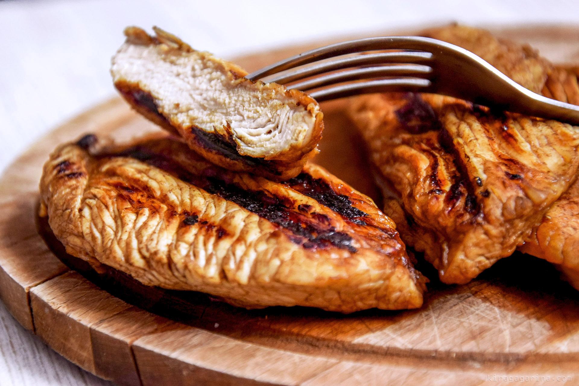 Как приготовить стейк из индейки по пошаговому рецепту с фото
