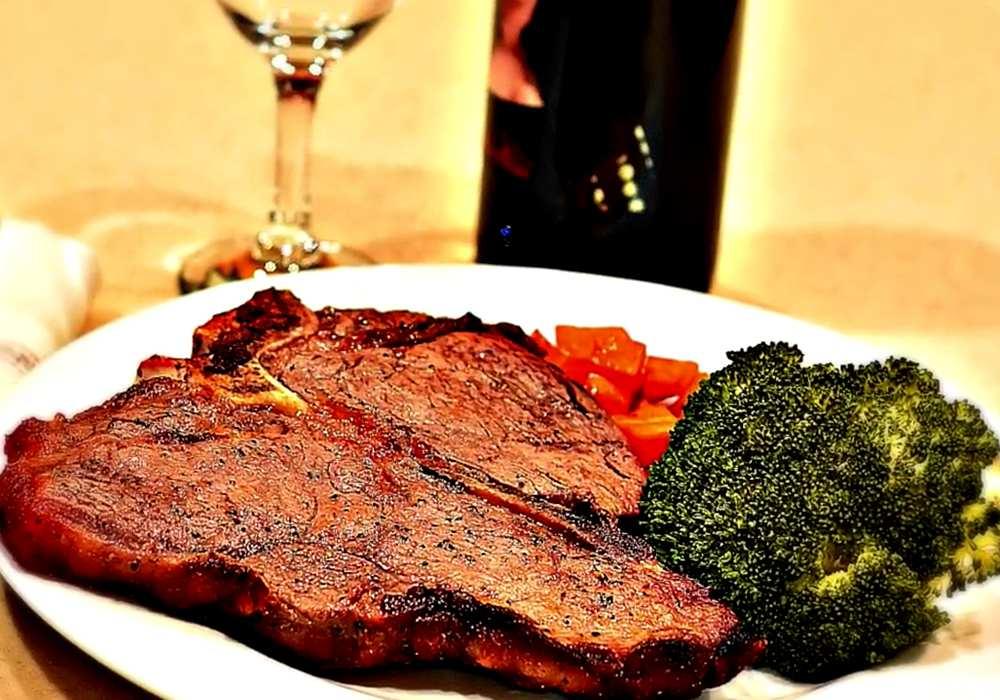 Рецепт стейк из говядины в духовке