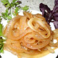 Как замариновать лук в яблочном уксусе
