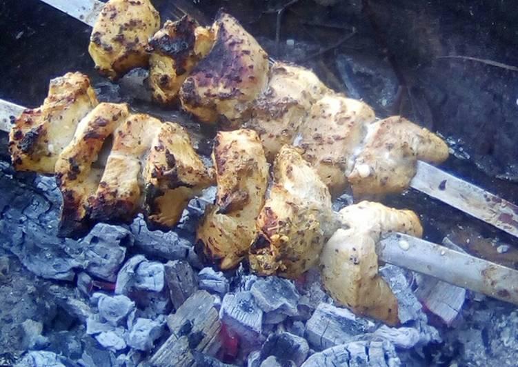 Нежный шашлык из говядины. маринад для шашлыка из говядины с киви