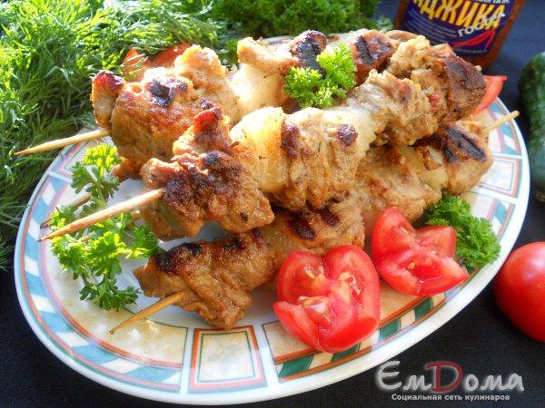 Шашлык из свинины на сковороде - рецепт с фотографиями - patee. рецепты