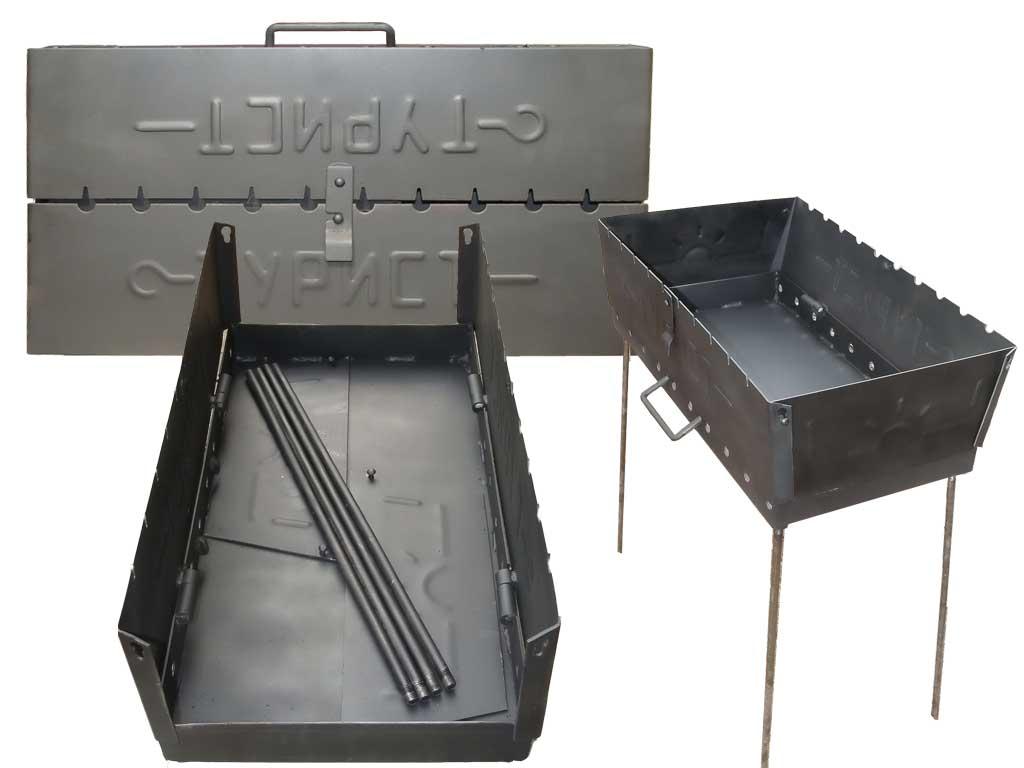 Мангал дипломат: сделаем мангал чемодан своими руками