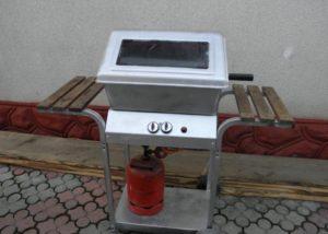 Как сделать летнюю печь мангал для дачи своими руками: стационарный, газовый и с электроприводом