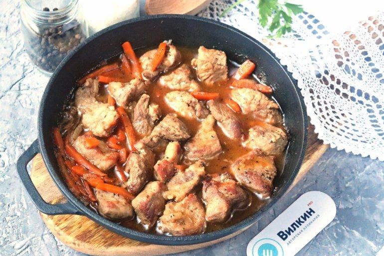 Тушенная свинина с овощами: 3 рецепта +видео, особенности приготовления - onwomen.ru