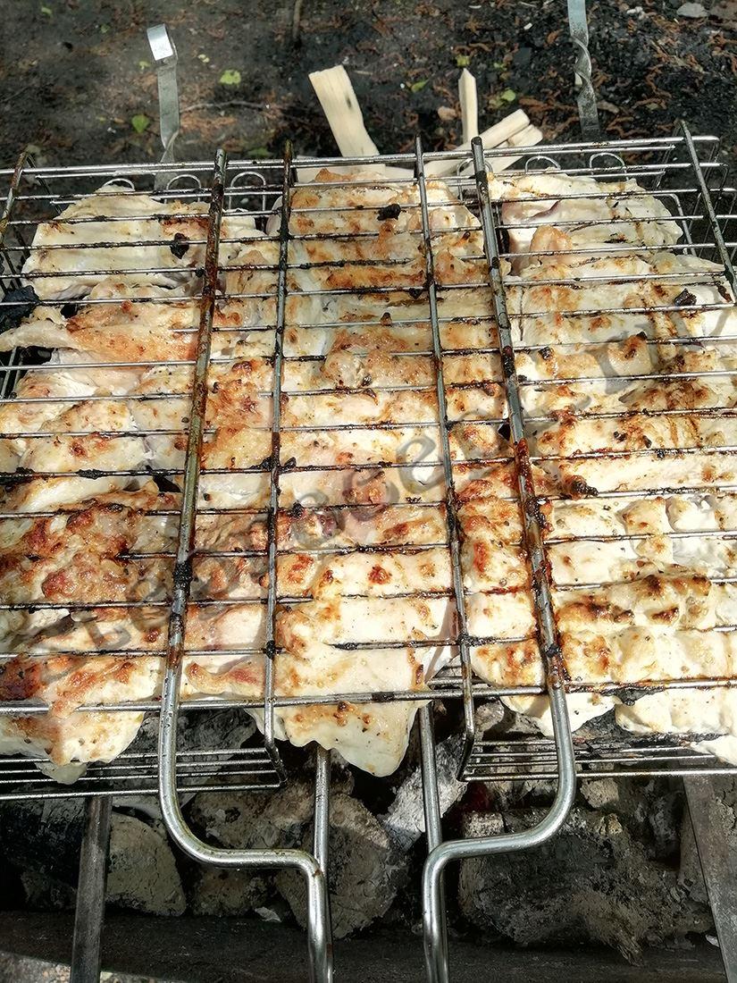 Как замариновать крылышки куриные для шашлыка, если ты на пп