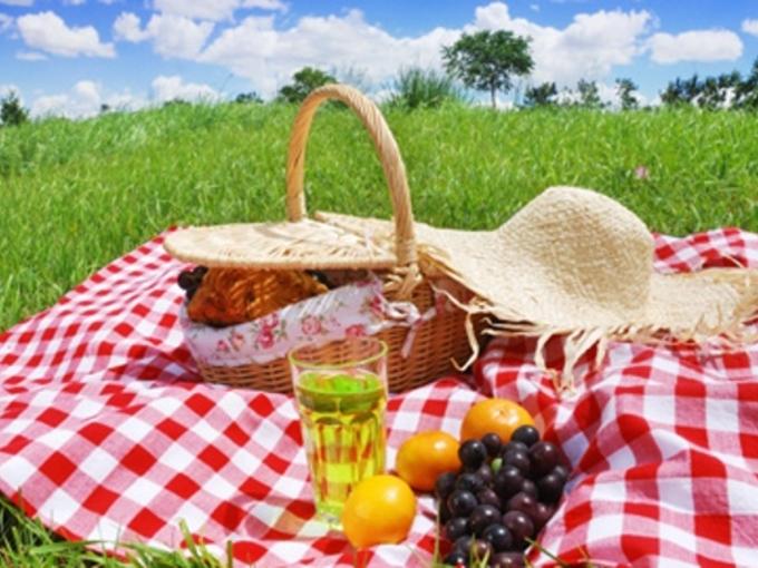Меню на пикник на природе и список того что взять с собой из еды
