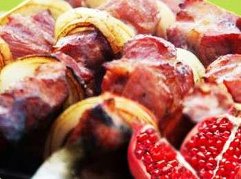 Шашлык на гранатовом соке рецепты. шашлык из свинины в гранатовом соке