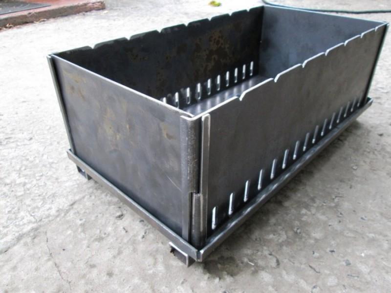 Правила сварки металлического мангала