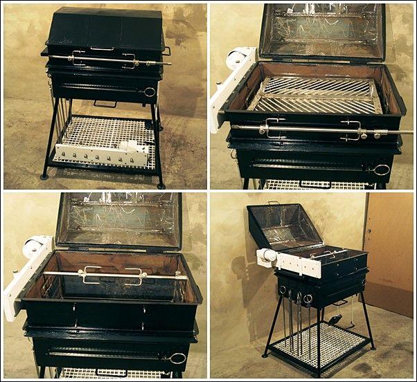 Автоматические мангалы: особенности и преимущества