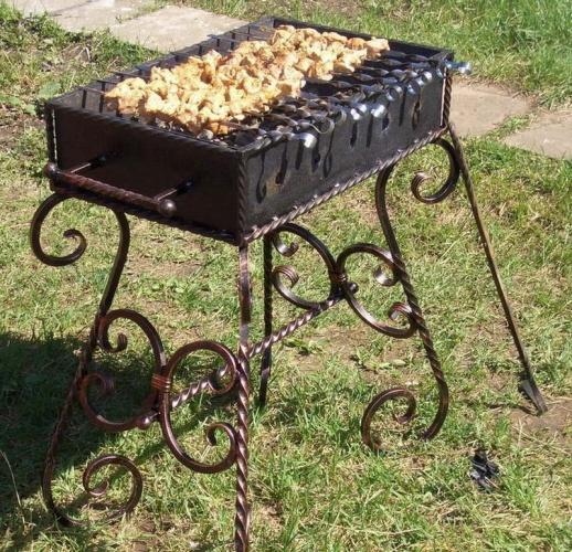 Огонь, металл и мясо: делаем мангал своими руками