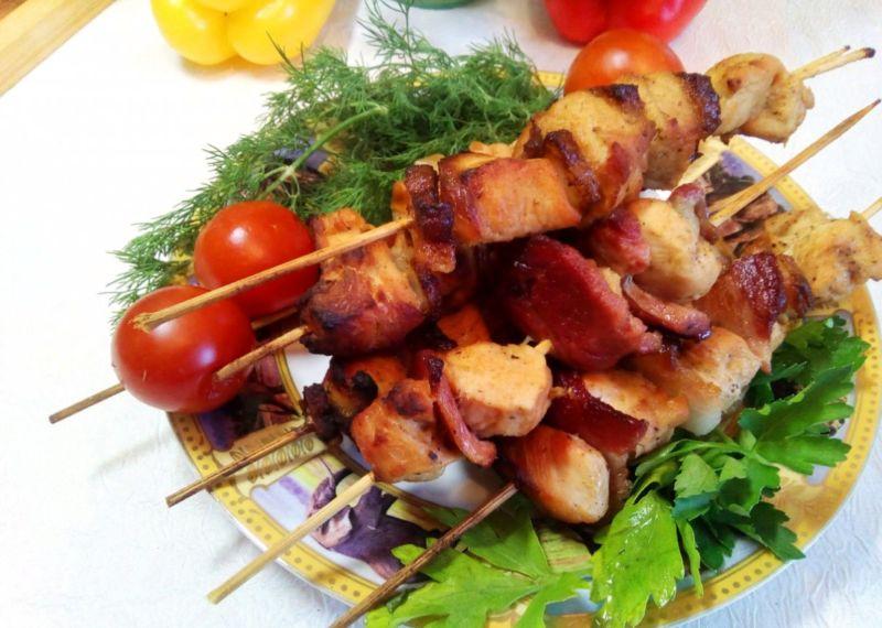 Маринад для шашлыка из курицы в кефире