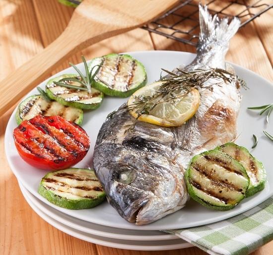 Шашлыки из рыбы