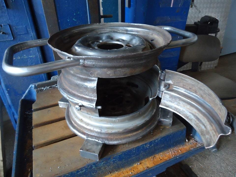 Как сделать мангал из колесных дисков автомобиля: пошаговый алгоритм действий, преимущества, недостатки