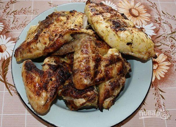 Шашлык из курицы на минеральной воде рецепт