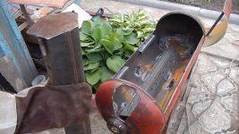 Как из газового баллона сделать мангал или коптильню в домашних условиях?