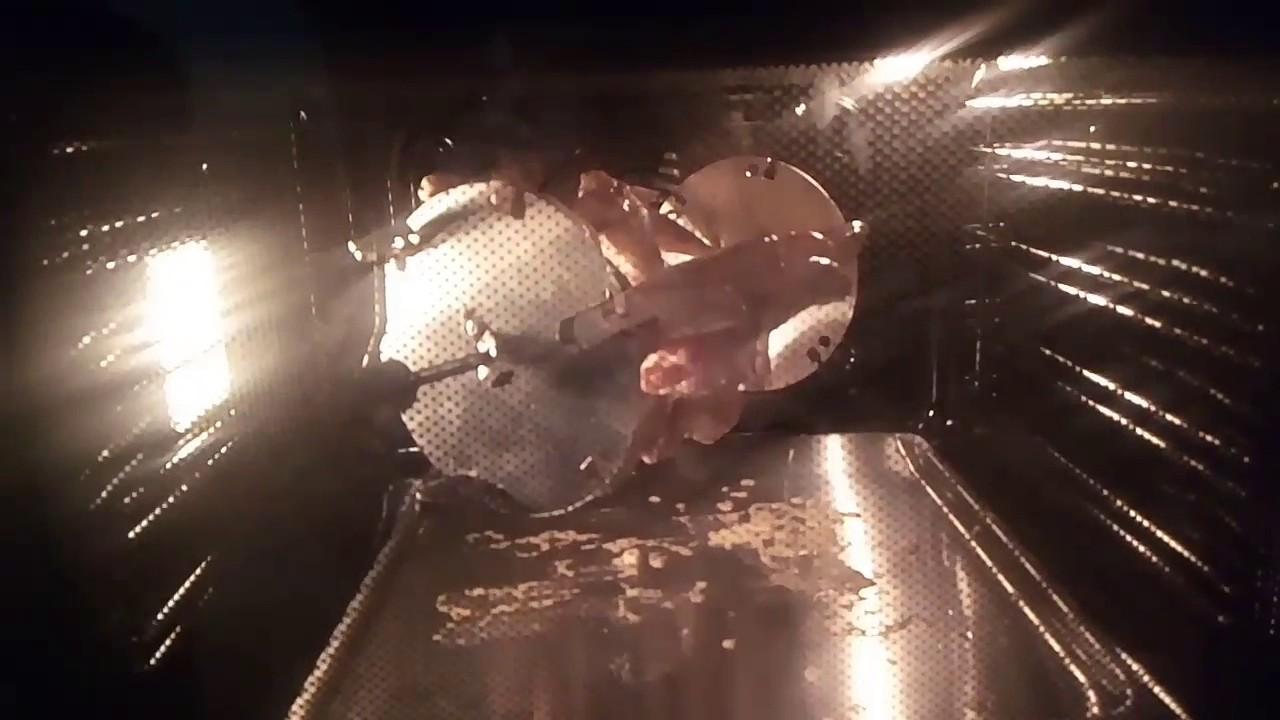 Свиная шея на вертеле рецепт. шашлык на вертеле в духовке