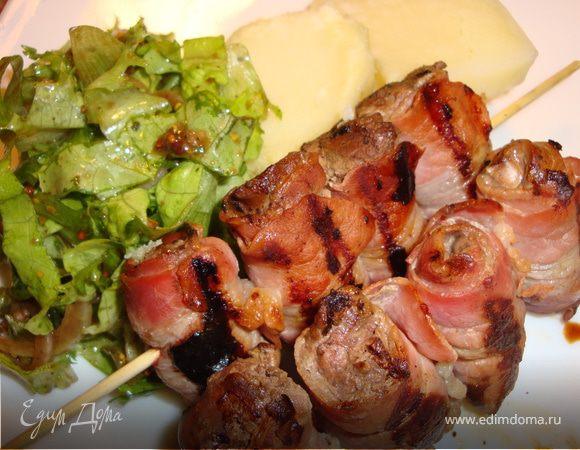 Шашлык из бараньей печени - 9 пошаговых фото в рецепте