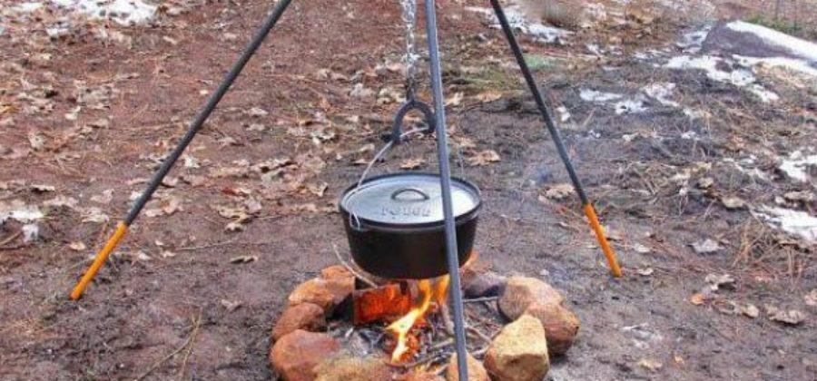 Походный казан: так ли нужна печь на природе