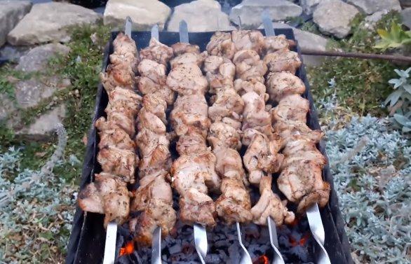 Шашлык из индейки – 8 рецептов приготовления пошагово