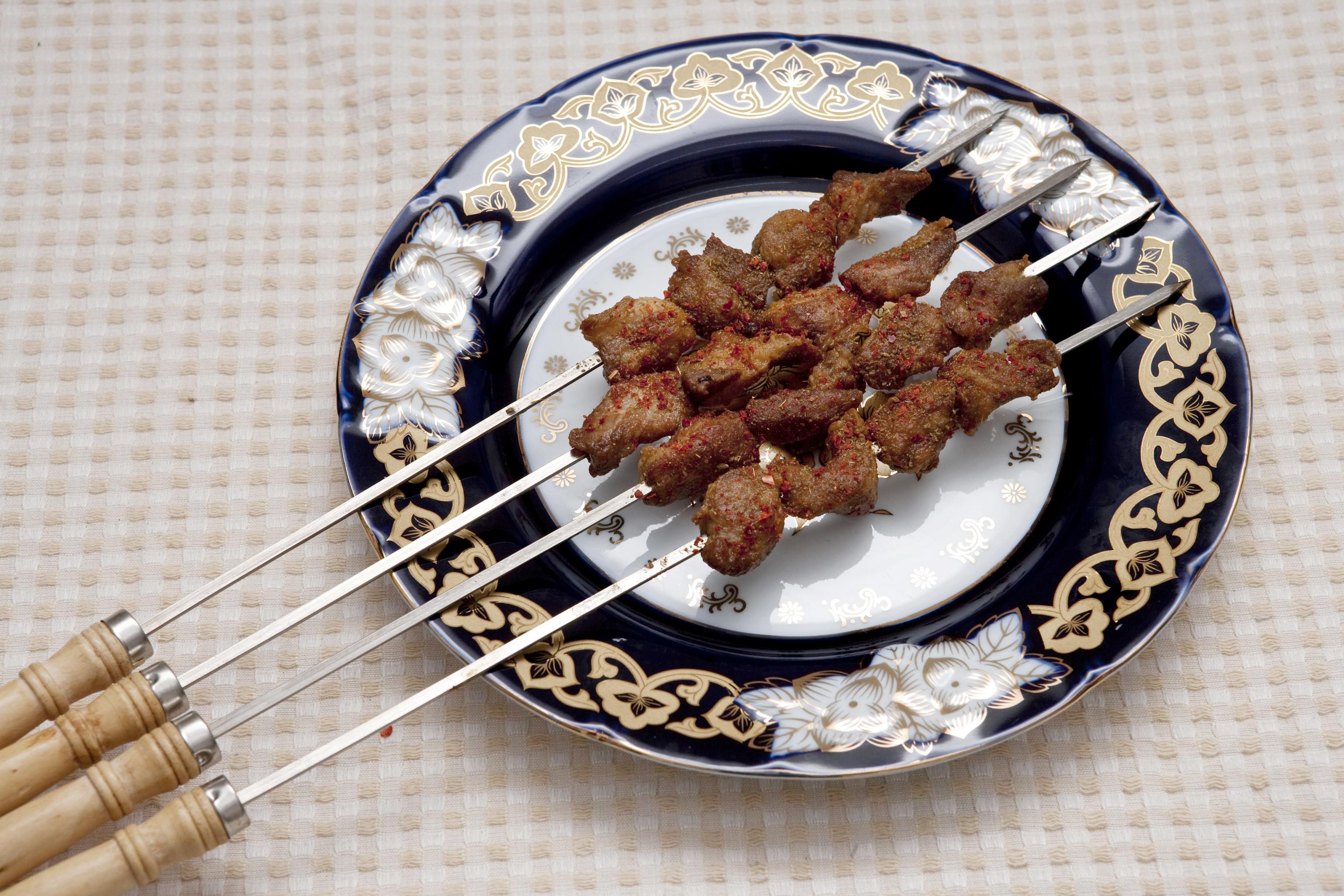 Рецепт шашлык из баранины по-татарски