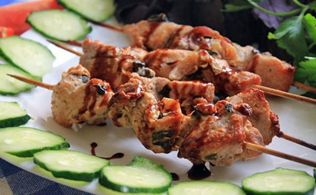 Шашлык из свинины с лимоном и луком. пошаговый рецепт с фото • кушать нет