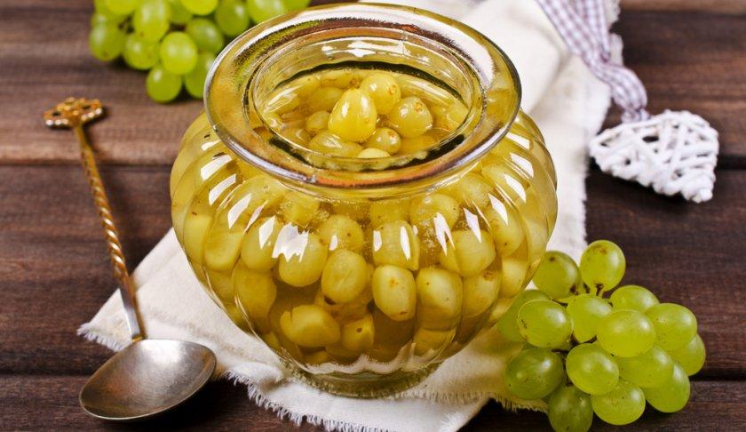 Маринованный виноград на зиму: рецепт без стерилизации