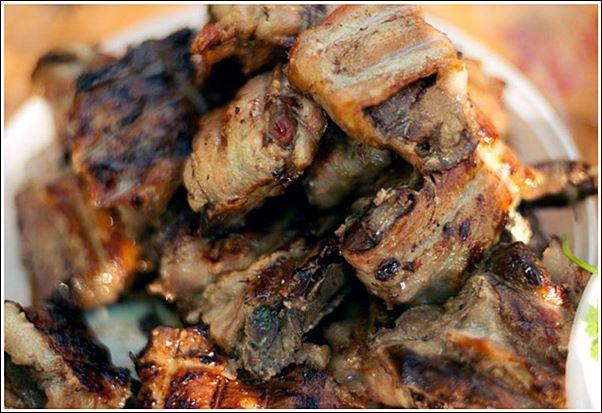 Шашлык из куриной печени, рецепт на шпажках