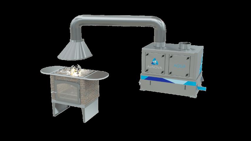 Гидрофильтр для мангала: особенности выбора, монтажа и эксплуатации оборудования для очистки воздуха в кафе и ресторанах
