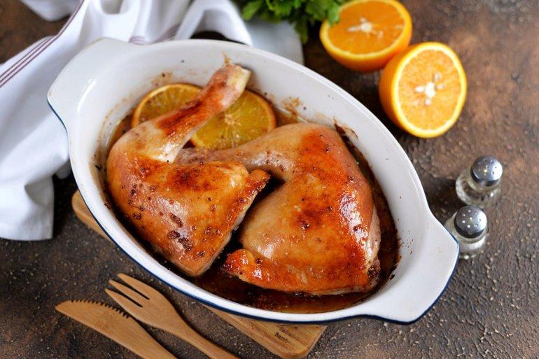 Шашлык с горчицей из курицы сочный на мангале