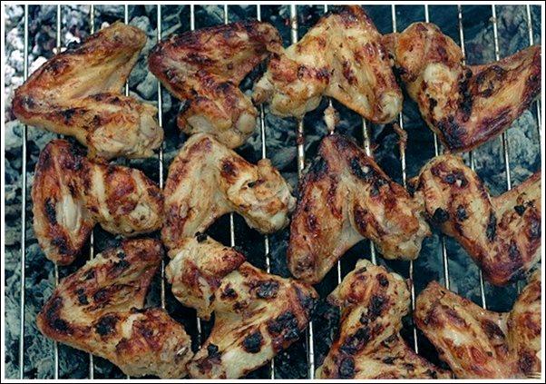 Маринад для крылышек куриных на мангале
